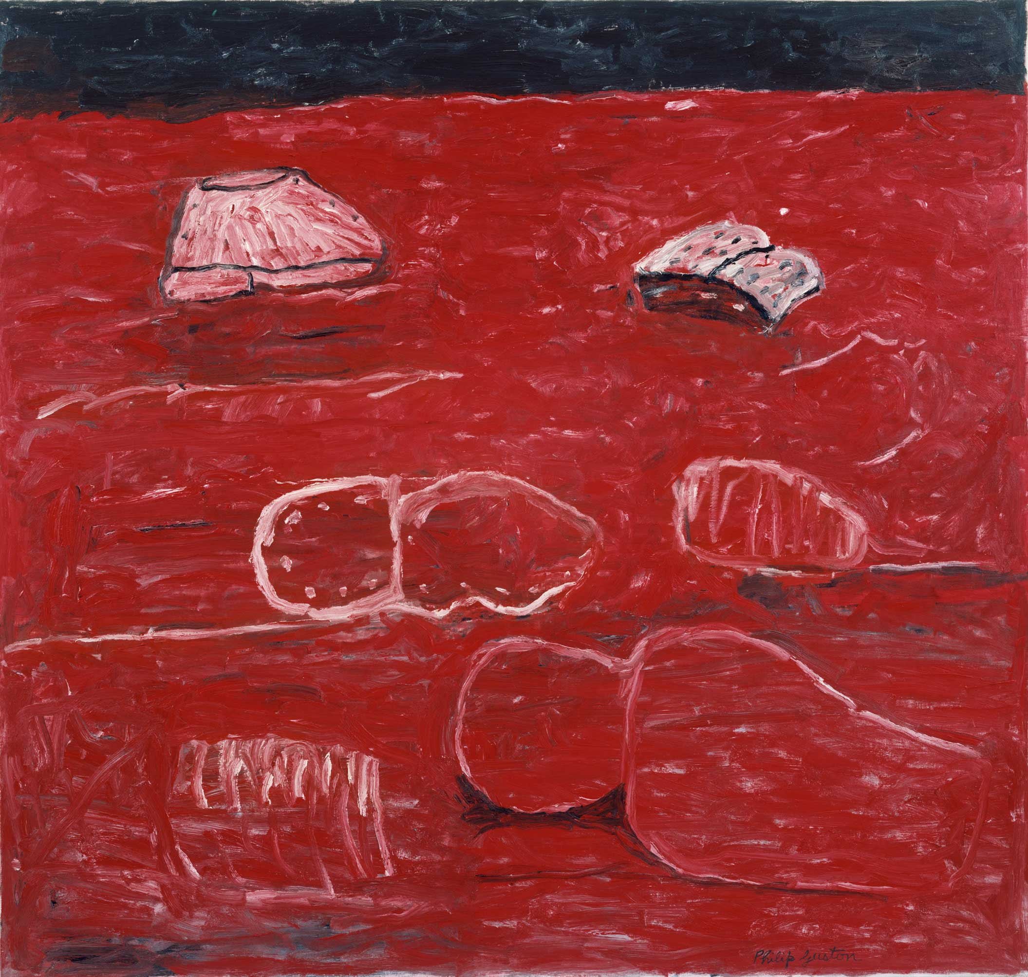 essay on philip guston As it goes, 1978 by philip guston neo-expressionism figurative.
